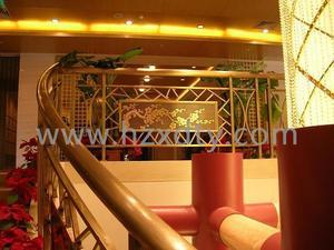 饭店铜栏杆