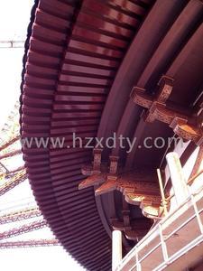 铜制雕花斗拱